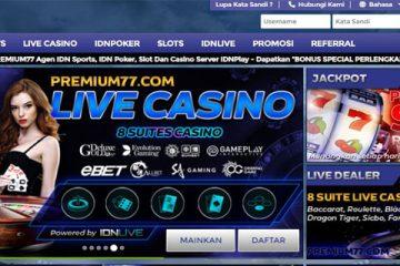 Premium77 Situs Taruhan Idnplay Aman Terpercaya
